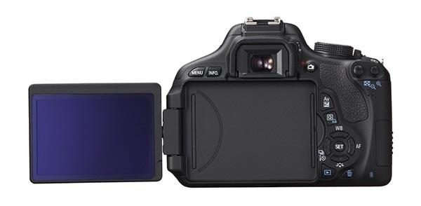 Canon EOS 600D mit schwenkbarem Display