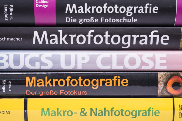 Bücher über Makrofotografie