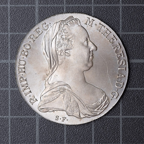 Münze fotografiert mit Digitalkamera