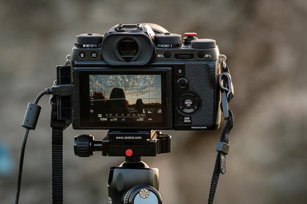 Kamera mit manueller Fokussierung